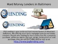 Hard money baltimore