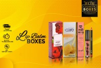 Printed Lip Balm Boxes