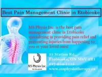 Best pain management clinic in Etobicoke   MS Physio Inc