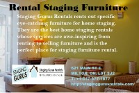 Staging Gurus Rental - Rental Staging Furniture