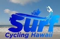 Ocean beach surf activity water bike in Hawaii
