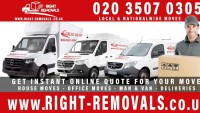 REMOVALS COMPANY, MAN WITH A VAN, MOVERS - HOUSE AND OFFICE REMOVALS