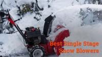 Best Single Stage Snow Blower