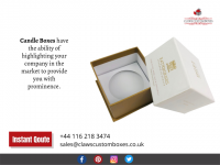 Customized Candle Boxes Packaging