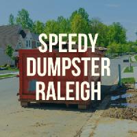 Speedy Dumpster Rental Raleigh