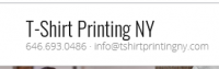 Tshirt Printing NYC , NY