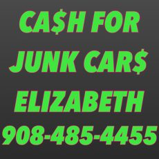 CASH FOR JUNK CARS ELIZABETH