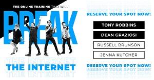 LIVE Training by Tony Robbins & Dean Graziosi