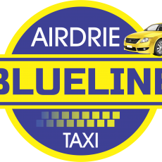 Blueline Airdrie Taxi Cab