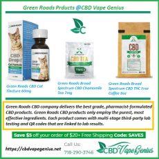 Green Roads ***** Products | ***** Vape Genius