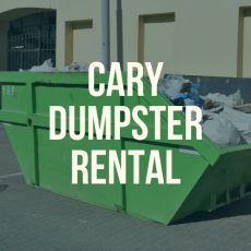Cary Dumpster Rental