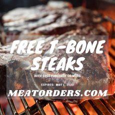 Free T-Bone Steak