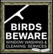 Birds Beware Window Washers