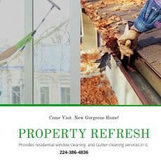 Gutter Cleaning Contractor -Property Refresh