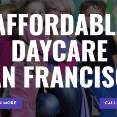 Affordable Daycare San Francisco
