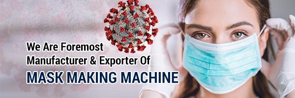 Mask Making Machine, N95 Mask Making Machine, Surgical Face Mask Making Machine In India