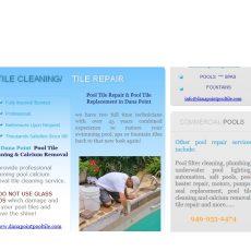 Diamond Bar Pool Tile Cleaning