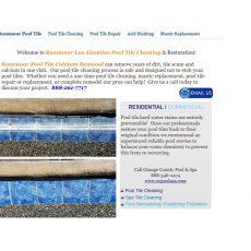 Rossmoor/Los Alamitos Pool Tile Cleaning