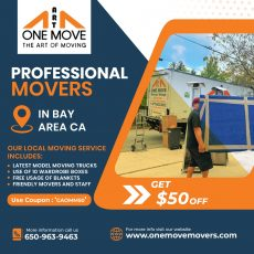 One Move Movers | Professional Moving Service in Bay Area California