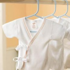 Tie-Side Infant Shirts
