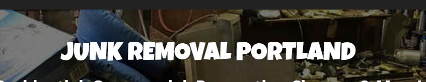Junk Removal Portland
