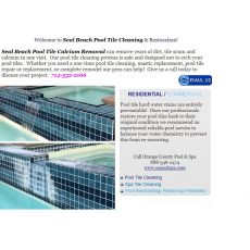 Seal Beach Pool Tile Cleaning