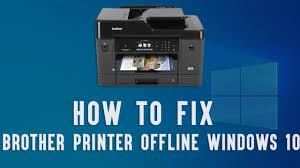 Ways To Fix Brother Printer Offline on Windows 10