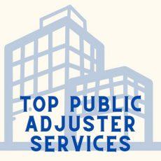 Top Public Adjuster Services
